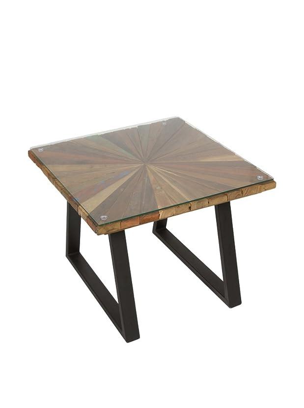 SCANDI CHIC Tavolino Ausiliario Sun