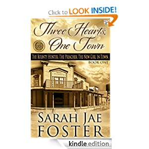 Three Hearts, One Town (Lincoln County Series (Book One))
