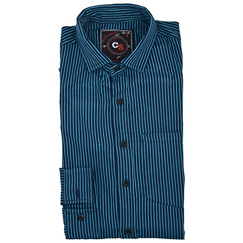 Mazel Tov Mens blue 100 cotton shirt