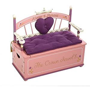 princess beautiful toy box bench kitchen dining
