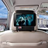 TFY Car Headrest Mount Holder for Google Nexus 7 Tablet-(Black Strap)