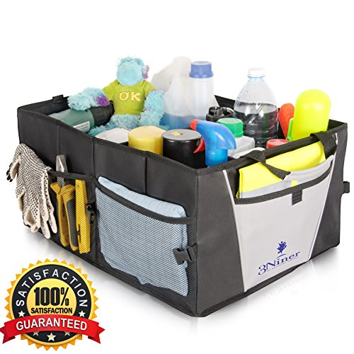 Car Trunk Organizer Universal Fit Free Gift Glove Box