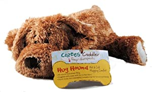 Cozees Cuddler Therapeutic Plush Hot/Cold Hug Hound Puppy Dog