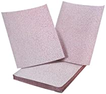 Sungold Abrasives 11117 9-Inch by 11-Inch 400 Grit Sheets Stearated Aluminum Oxide, 25-Pack
