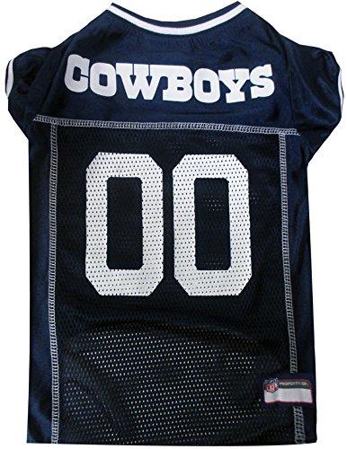 Pets First NFL Dallas Cowboys Pet Jersey, Large