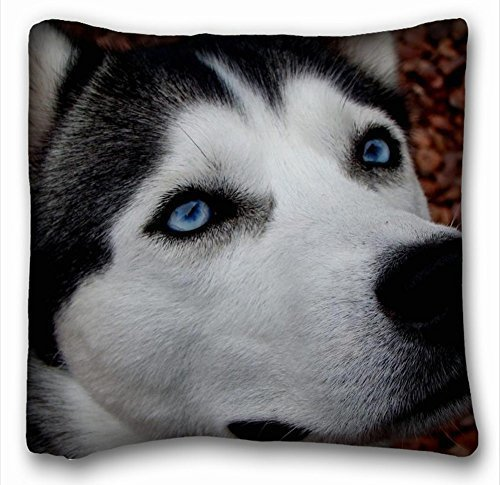 Embark Animal Pillow : Personalized pillowcase Fashion design pillow coverThrow Pillow Case Animals Husky dog eyes 18 ...