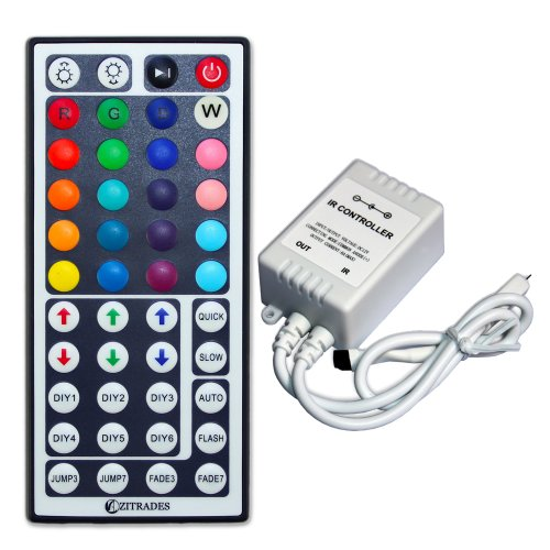 Zitrades Ir Remote Controller 44 Keys For Rgb Led Light Strip By Zitrades