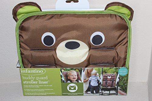 Infantino Buddy Guard Stroller Liner - Bear - 1