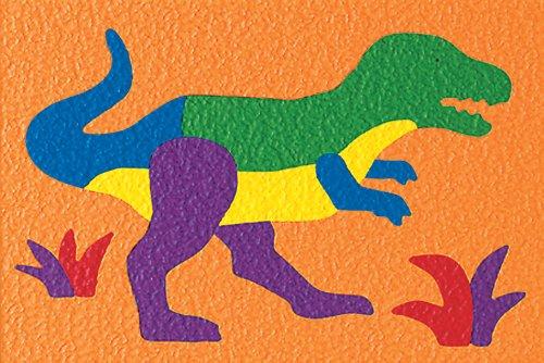 Lauri Crepe Rubber Puzzle - Tyrannosaurus - 1