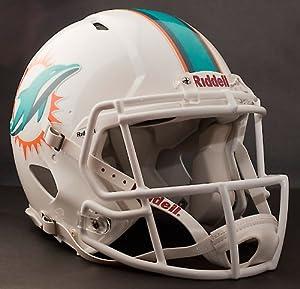 MIAMI DOLPHINS NFL Riddell Revolution SPEED Football Helmet by ON-FIELD