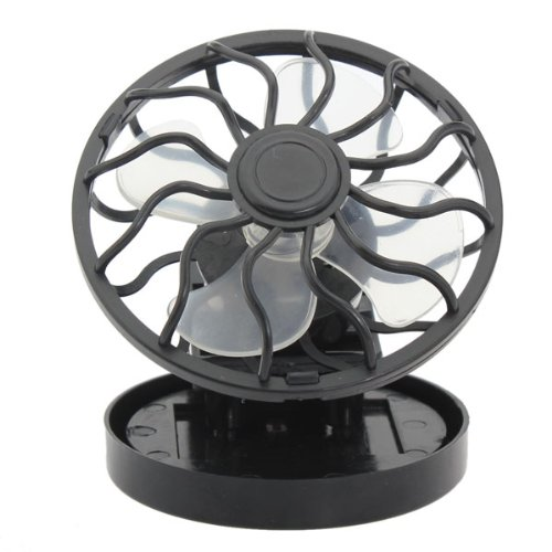 Mini Solar Powered Clip Cap/Hat Fan