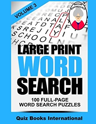 Large Print Word Search Volume 3