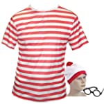 Large Fancy Dress T Shirt Red & White...