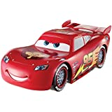 Cars - Cgk27 - Voiture De Circuit - Mega Mcqueen Roues Lumineuses