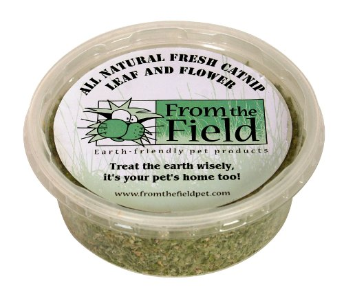 See From The Field FFC308 1-Ounce Catnip Leaf and Flower Tub