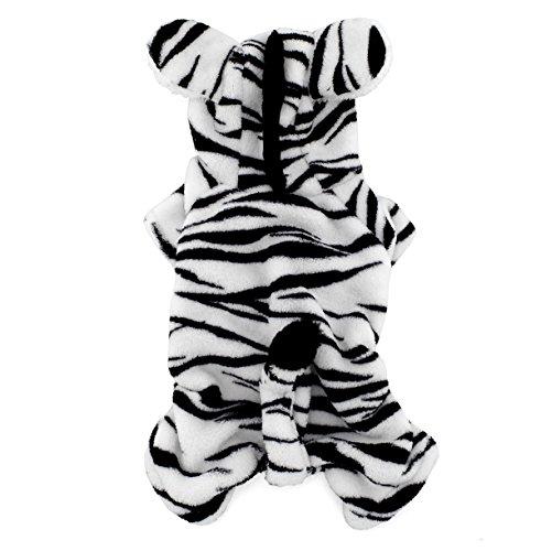 SMALL (Zebra Cat Costume)