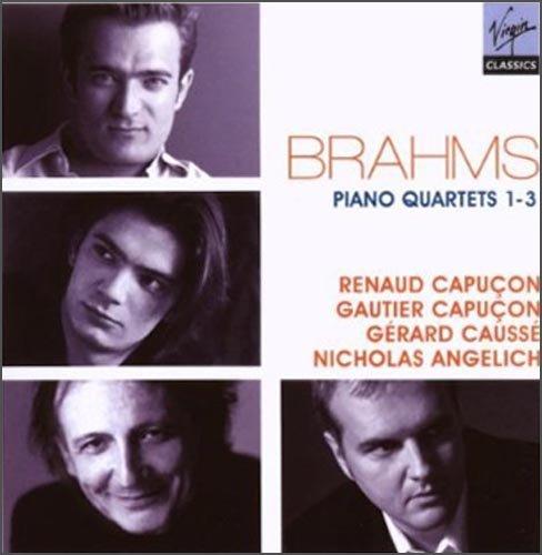 进口CD 勃拉姆斯 第1至3号钢琴四重奏 51931025 图