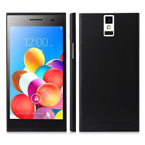 Mijue M880 Smartphone Android 4.4 Mtk6582 1Gb 8Gb 5.5 Inch Qhd Screen Otg Black