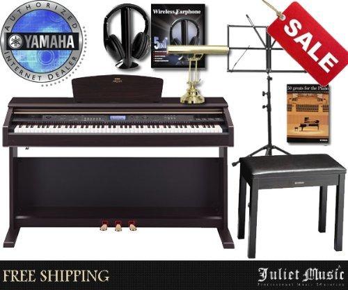 Yamaha Arius Ydpv240 Ydp-V240 88-Key Digital Piano Delux Bundle With Free Gifts