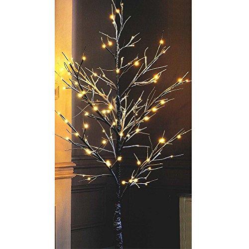 Lichterbaum »Schnee« mit warm-weiße LED Lichterbaum mit...