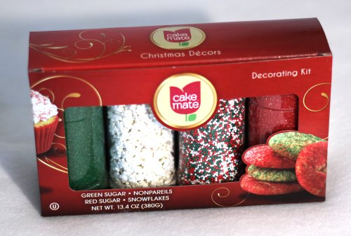 Cake Mate Christmas Decors Decorating Kit