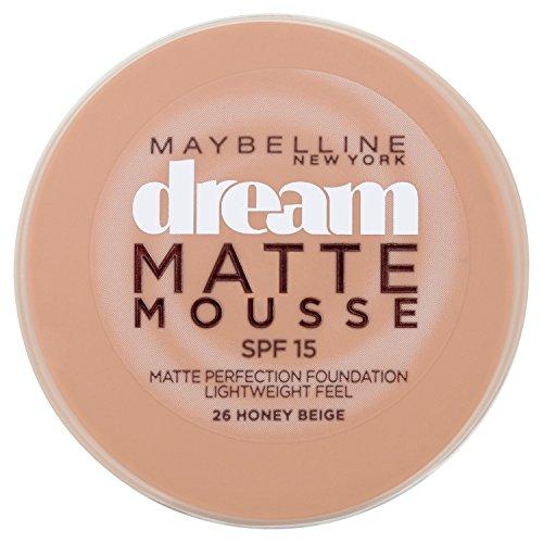 Maybelline Dream, Fondotinta compatto in mousse, 26 Honey Beige, 18 ml