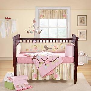 Love Bird 4 pc Crib Set