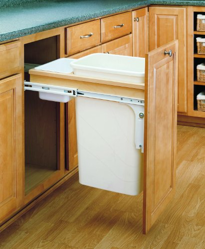Rev-A-Shelf - 4WCTM-1550DM-1 - 50 Quart Top Mount Waste Container