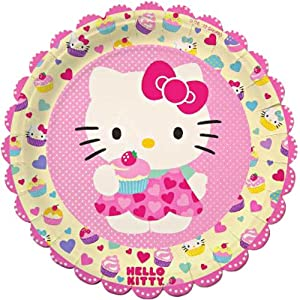 hello kitty paper plates Serving 8 guests hello kitty rainbow express party pack includes plates, napkins and cups hello kitty party supplies at who wants 2 party australia.