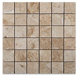 Cappuccino 2X2 Marble Polished Mosaic Tile
