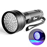 Opoway Blacklight 51 UV LED Premium Handheld Ultraviolet Flashlight Black Light for Urine Stain Bed Bugs Scorpions Leaks Detector Torch 395nM