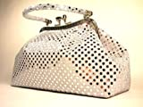 HANDBAG Tube Metallic Silver - WiseGloves EVENING BAG TOTE PURSE CLUTCH