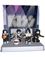 KISS - The Demon, The Starchild, The Spaceman, and the Catman 41 pc K'nex Set