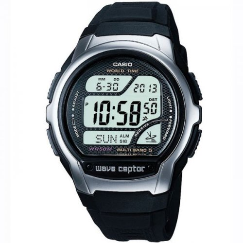 Casio WV-58U-1AVEF Wave Ceptor Men's Resin Strap Digital Watch