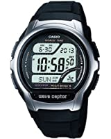 Casio - WV-58U-1AVES - Montre Homme - Quartz - Digital - Alarme - Chronographe - Rétro éclairage - Bracelet Résine Noir