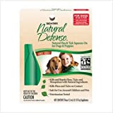 Sentry Natural Defense Natural Flea and Tick Squeeze-On for Dogs and Puppies 40-Pound and Over ~ Sentry