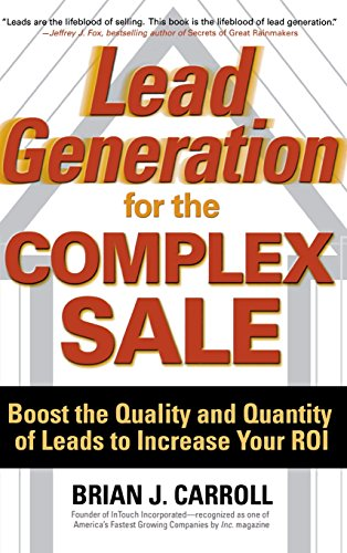 lead generation for the complex sale pdf