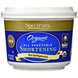 Spectrum Organic All Vegetable Shortening 24 Oz - 2 Pack