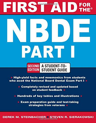 FIRST AID FOR THE NBDE PART 1 2/E (First Aid Series) (Pt. 1) (Nbde Ii compare prices)