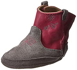 Robeez Cowgirl Bootie (Infant/Toddler),Jelly,6-12 Months M US