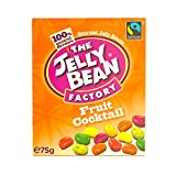 The Jelly Bean Factory Box of Gourmet Fruit Cocktail Jelly Beans 75 g (Pack of 8)