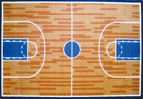 About prices of la rug basketball court 39 by 58 inch for Average cost of a basketball court