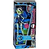 Monster High Frankie Stein Fashion Doll Swimsuit Leopard Print