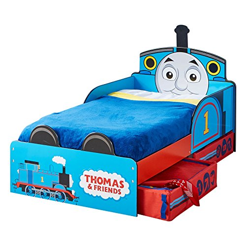 Best Thomas the Tank Engine Toddler Bed with Underbed Storage