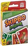 Mattel T1882-0 - Skip-Bo Junior, Kartenspiel hergestellt von Mattel