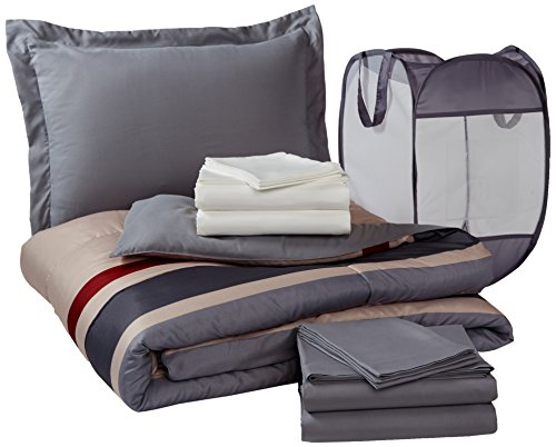 Pinzon 9-Piece Bed In A Bag With Hamper - Twin/Twin X-Large, Montrose