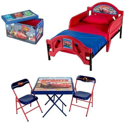 Disney Pixar Cars Room in a Box with Foldable Table and Chair Set