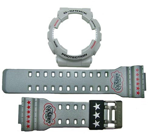 Casio GA-110EH Grey watch band & bezel set