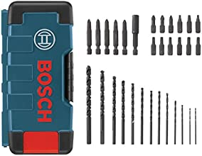Bosch T4031 Impact Screw Driving and Black Oxide Drill Bit Set, 31-Piece
