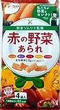 栗山米菓 赤の野菜あられ (16g×4袋入)×12袋